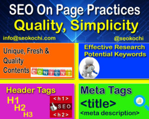 seo on page optimization services - seo kochi